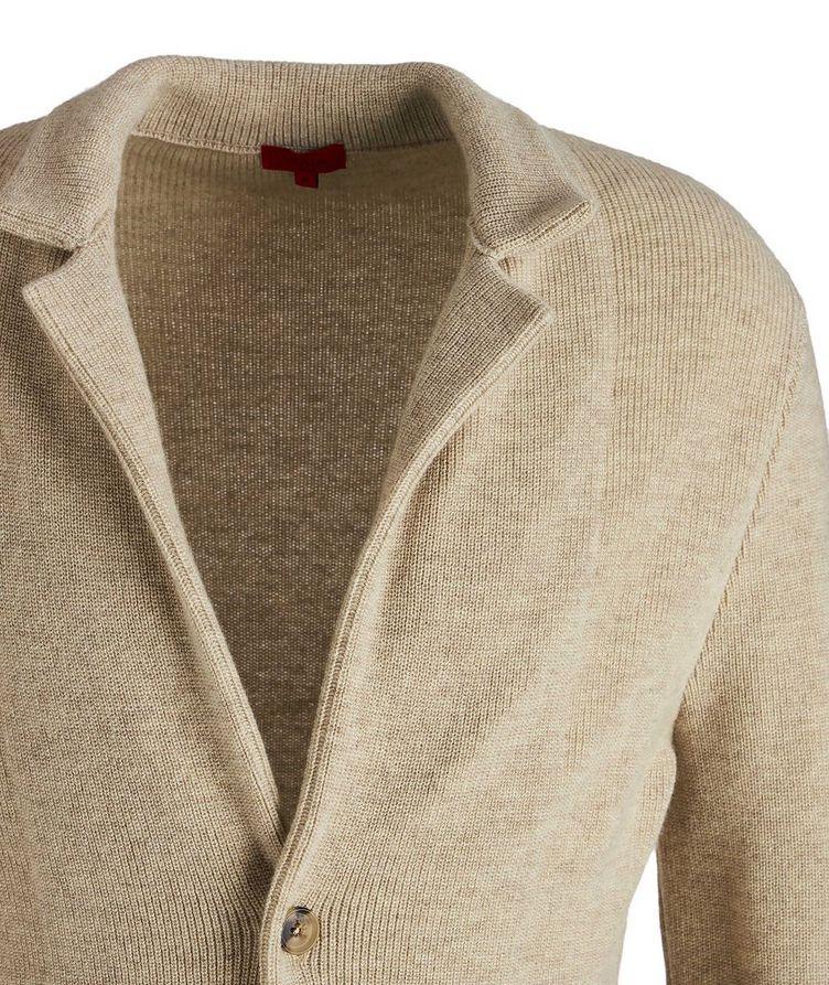 Shawl Collar Cashmere Sweater image 2