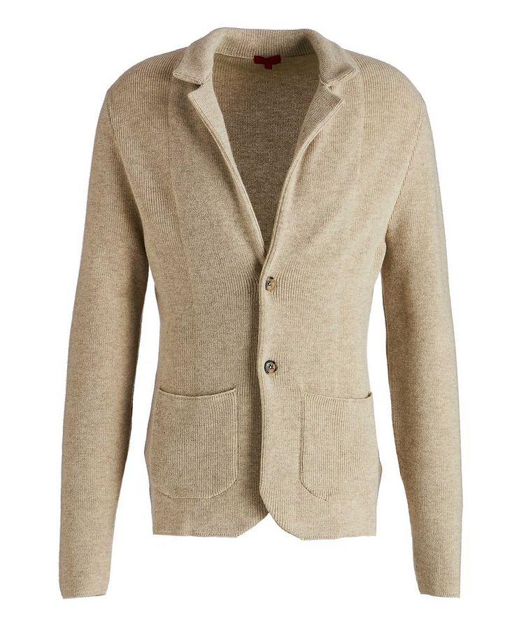 Shawl Collar Cashmere Sweater image 0