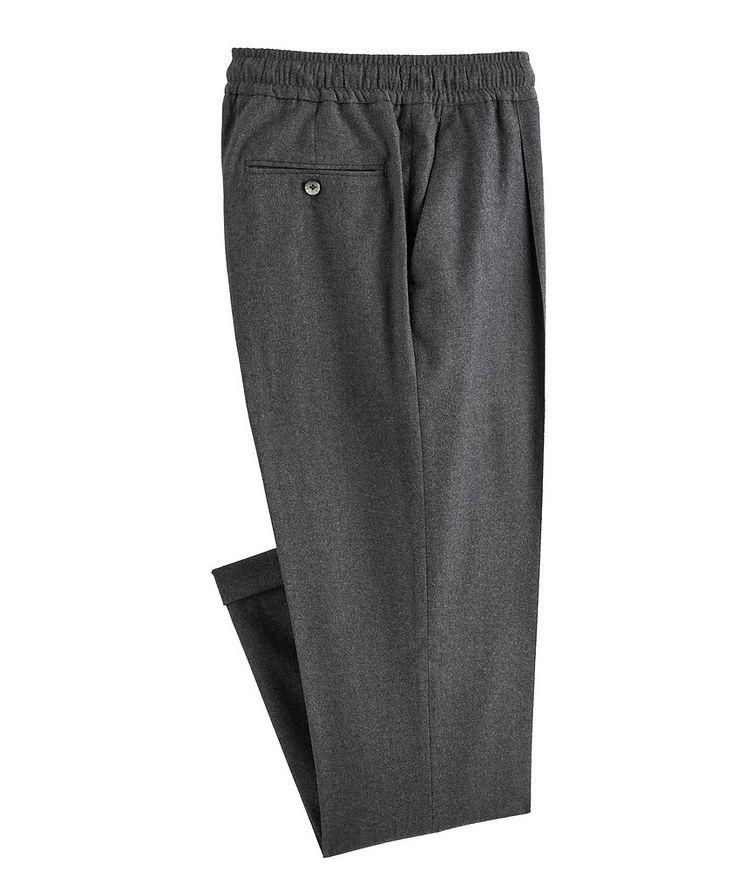 Drawstring Wool-Blend Pants image 0