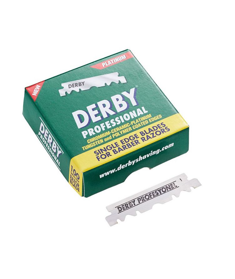 Derby Professional Single Edge Razor Blades  image 0