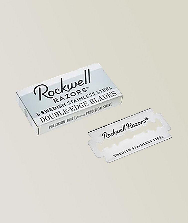 Rockwell Double Edge Razor Blades  image 0