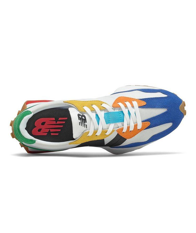 327 Suede, Nylon & Mesh Sneakers image 2