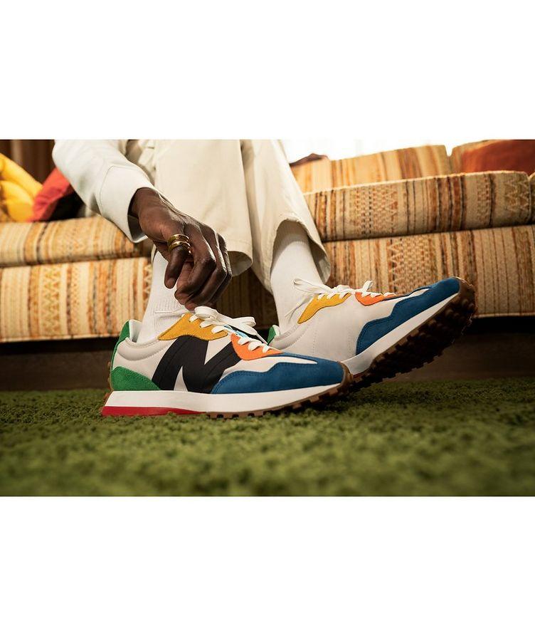 327 Suede, Nylon & Mesh Sneakers image 4