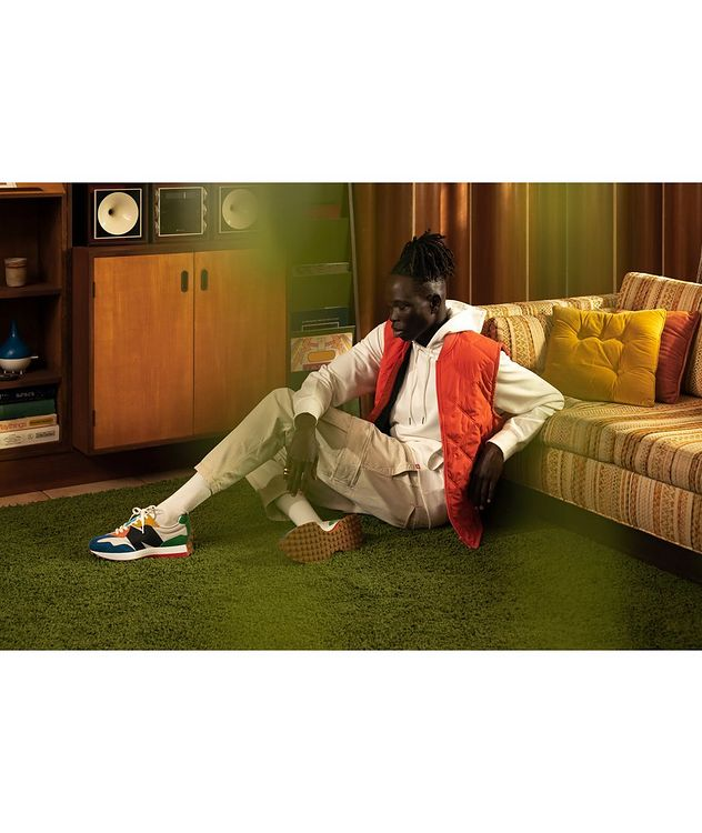 327 Suede, Nylon & Mesh Sneakers picture 6