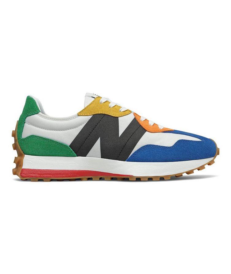 327 Suede, Nylon & Mesh Sneakers image 0