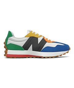 New Balance 327 Suede, Nylon & Mesh Sneakers