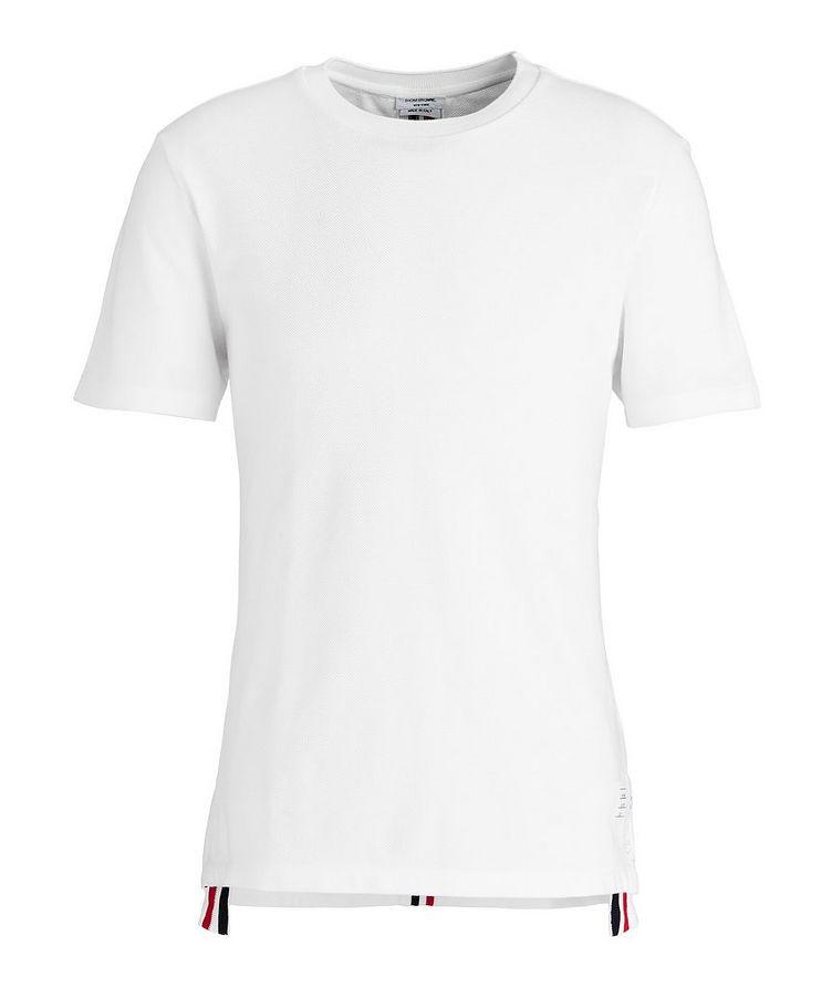 T-shirt en coton piqué image 0