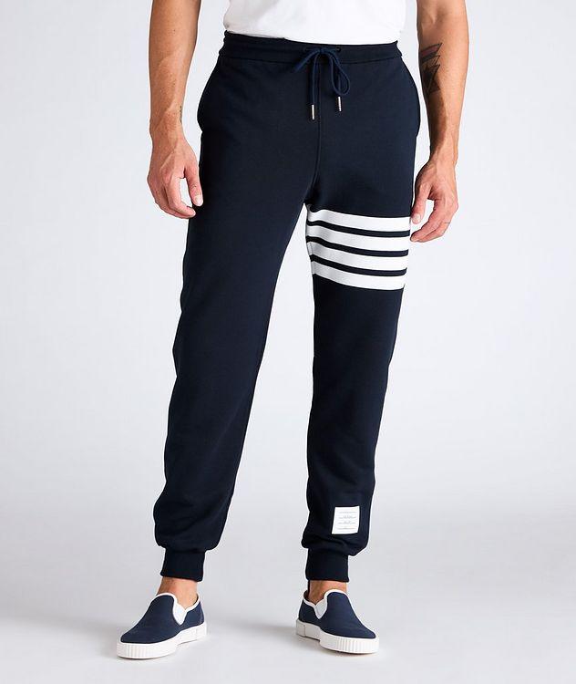 Four-Bar Stripe Cotton Sweat Pants picture 2