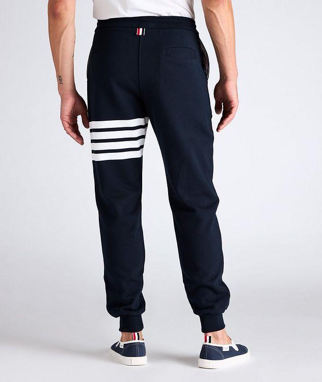 Four-Bar Stripe Cotton Sweat Pants picture 3