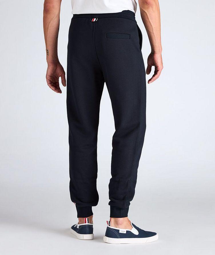 Stripe Drawstring Cotton Sweat Pants image 2