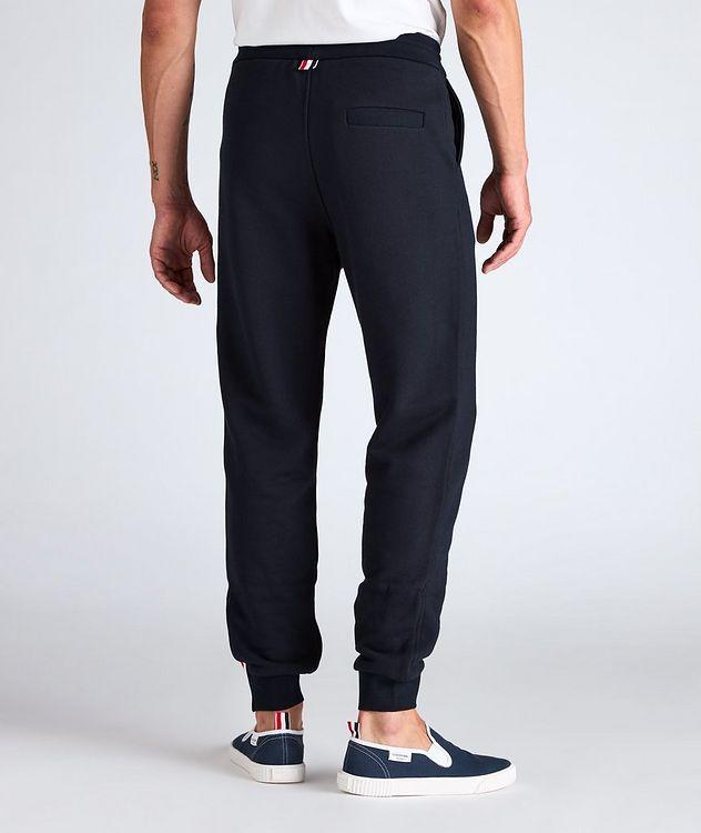 Stripe Drawstring Cotton Sweat Pants picture 3