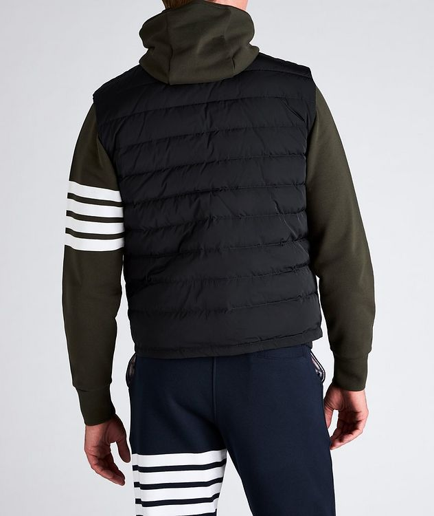 Four-Bar Stripe Quilted Down Vest picture 3