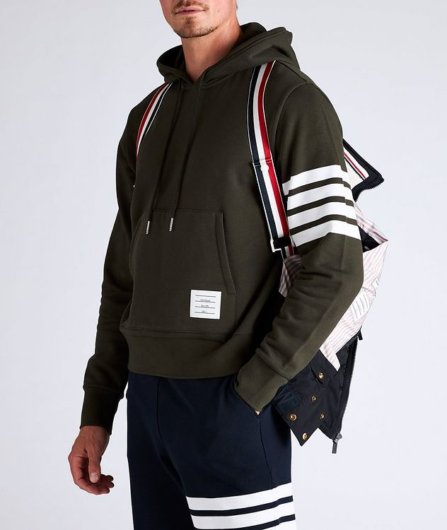 Four-Bar Stripe Quilted Down Vest picture 4