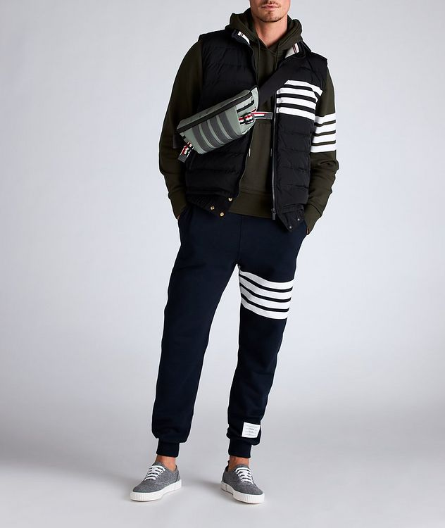 Four-Bar Stripe Quilted Down Vest picture 5