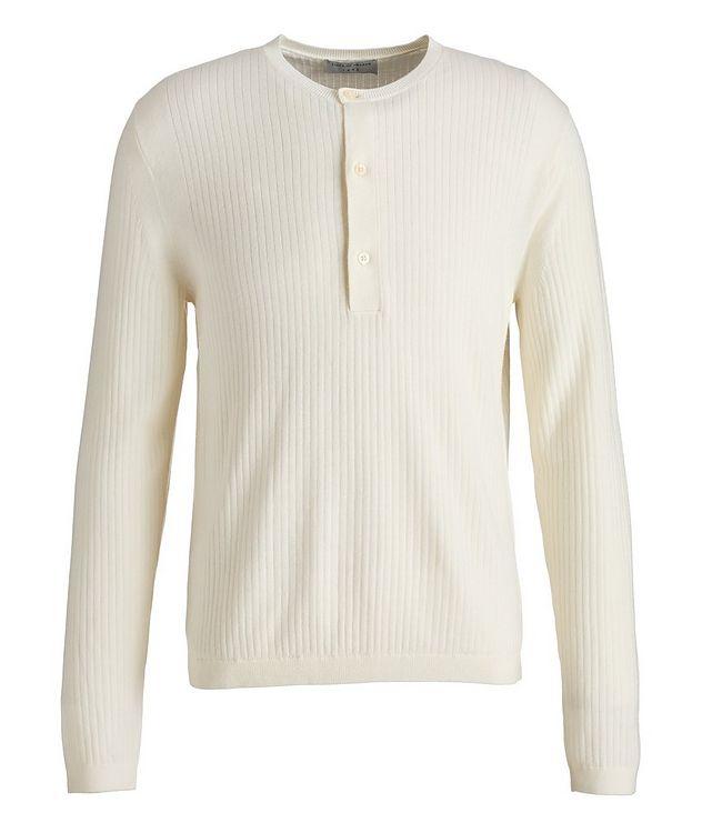 Nassau Wool-Cotton Henley Sweater picture 1