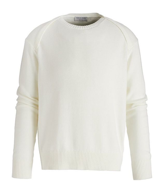 Raglan Sleeve Cotton Sweater picture 1