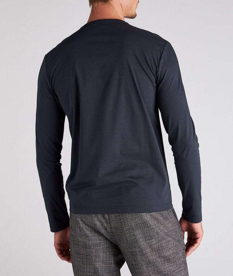 T-shirt en coton mercerisé à manches longues image 2