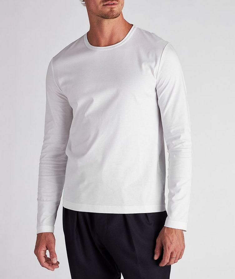 Long-Sleeve Mercerized Cotton T-Shirt image 1