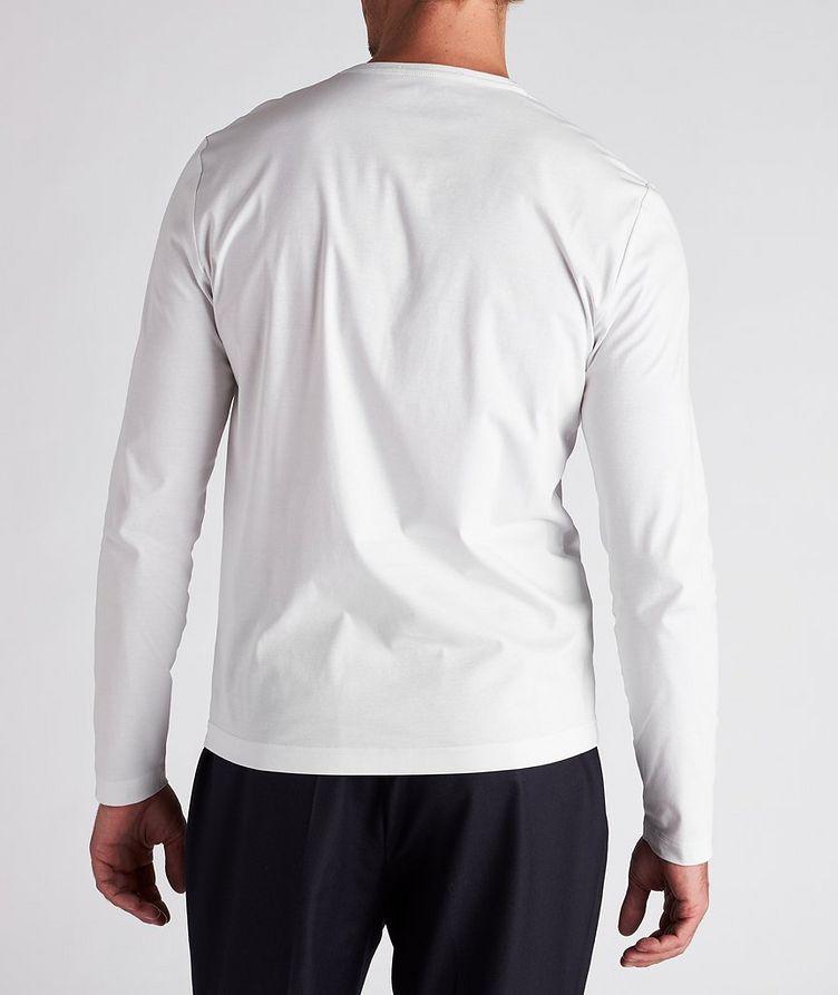 Long-Sleeve Mercerized Cotton T-Shirt image 2