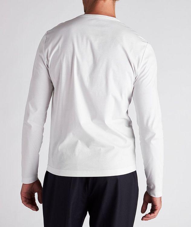 Long-Sleeve Mercerized Cotton T-Shirt picture 3