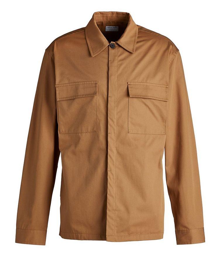 Bergen Cotton Shirt Jacket image 0