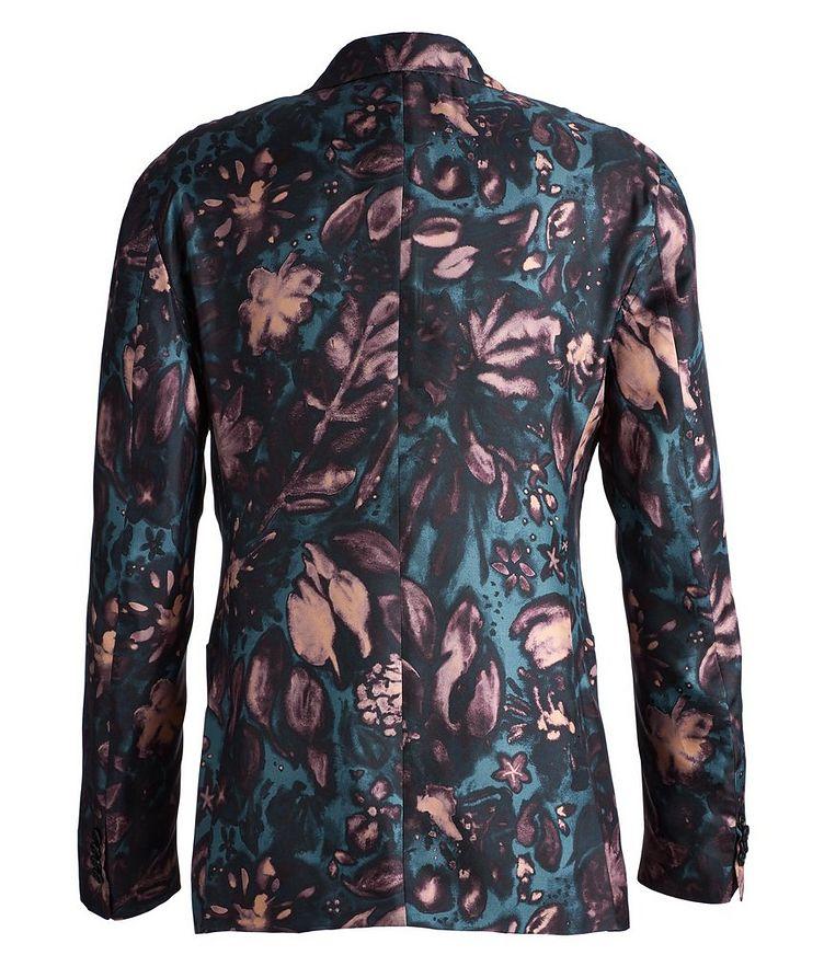 Giavio Floral Silk Sports Jacket image 1