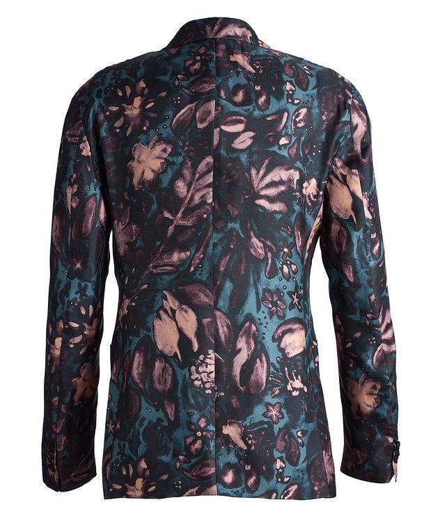 Giavio Floral Silk Sports Jacket picture 2