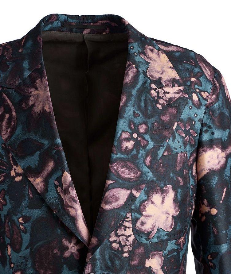 Giavio Floral Silk Sports Jacket image 2