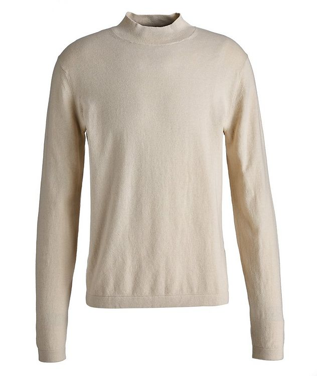 Tern Wool-Cotton Mock Neck Sweater picture 1