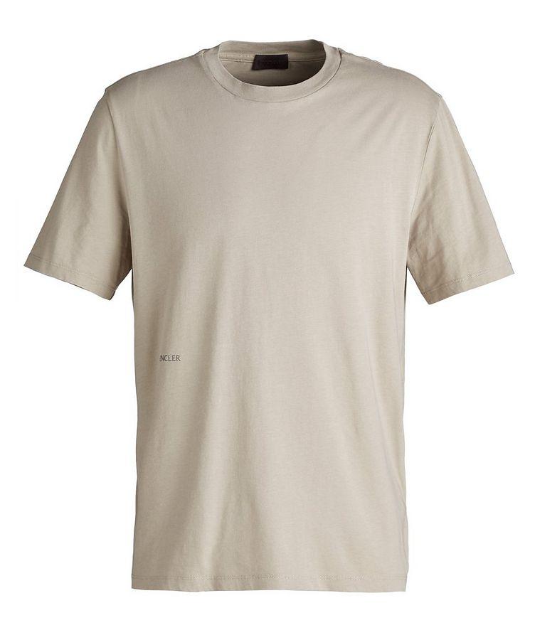 Geometric Cotton T-Shirt image 0