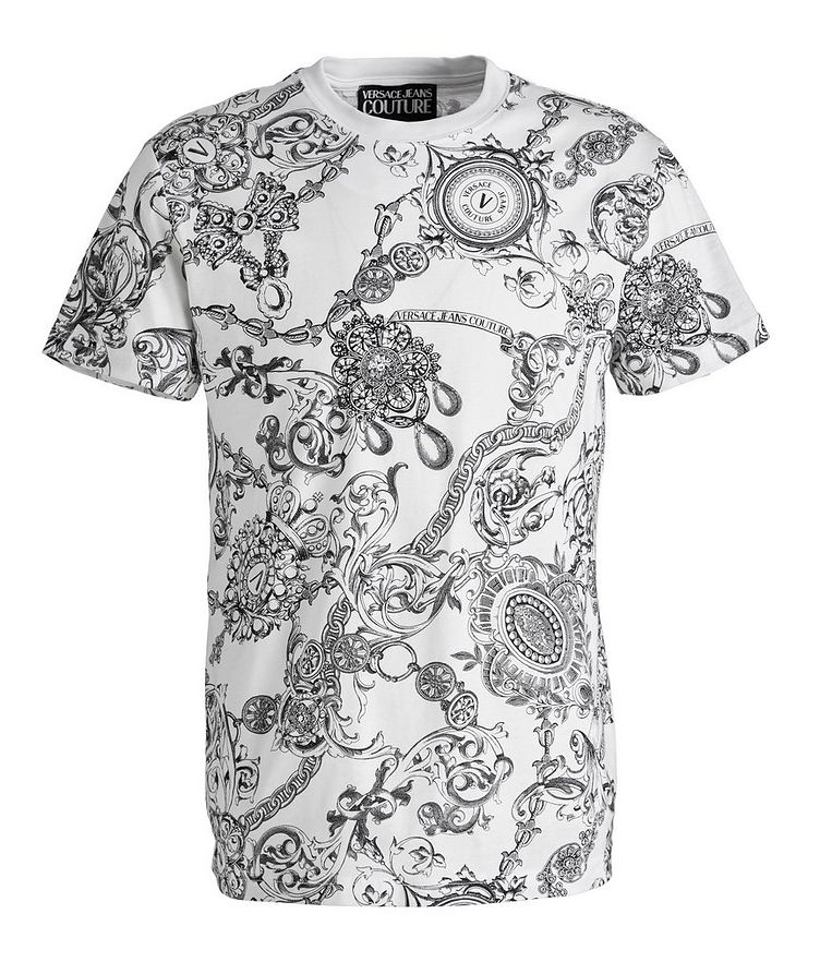 Bijoux Baroque Cotton T-Shirt image 0