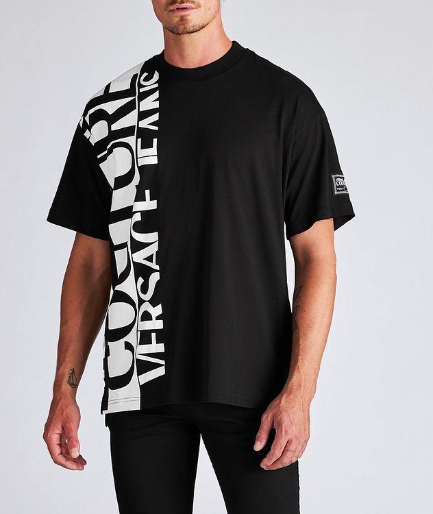 Vertical Logo Cotton T-Shirt picture 2