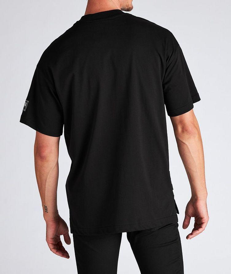 Vertical Logo Cotton T-Shirt image 2