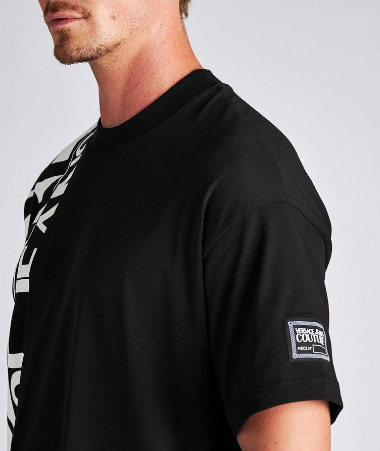 Vertical Logo Cotton T-Shirt image 3