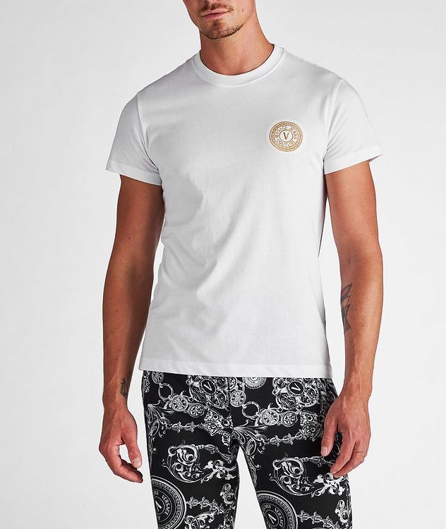 Stamp Logo Cotton T-Shirt picture 2