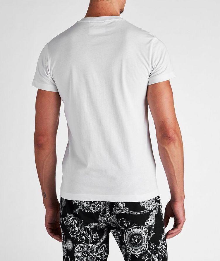 Stamp Logo Cotton T-Shirt image 2