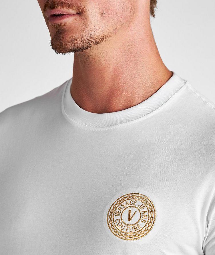 Stamp Logo Cotton T-Shirt image 3