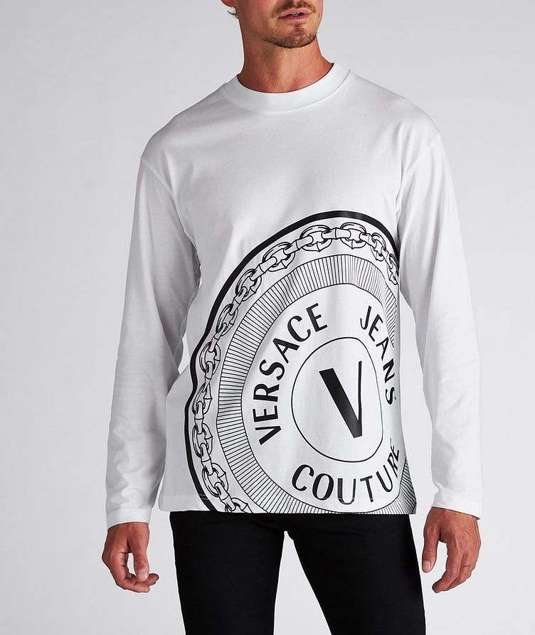 Emblem Logo Cotton Long-Sleeve T-Shirt image 1