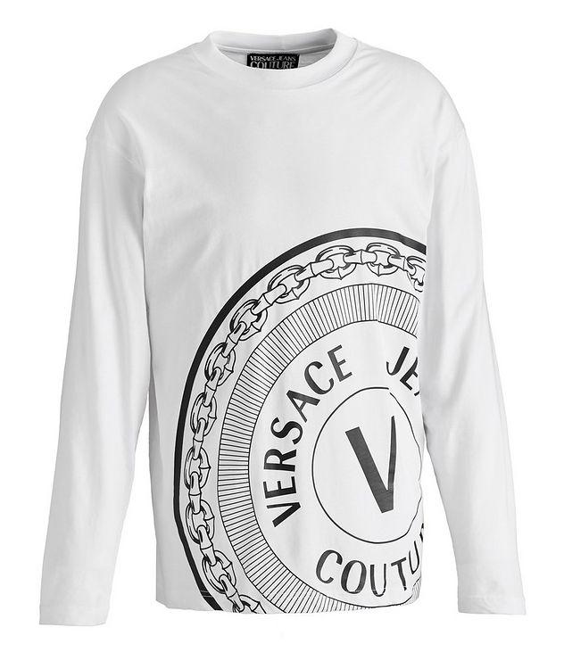 Emblem Logo Cotton Long-Sleeve T-Shirt picture 1