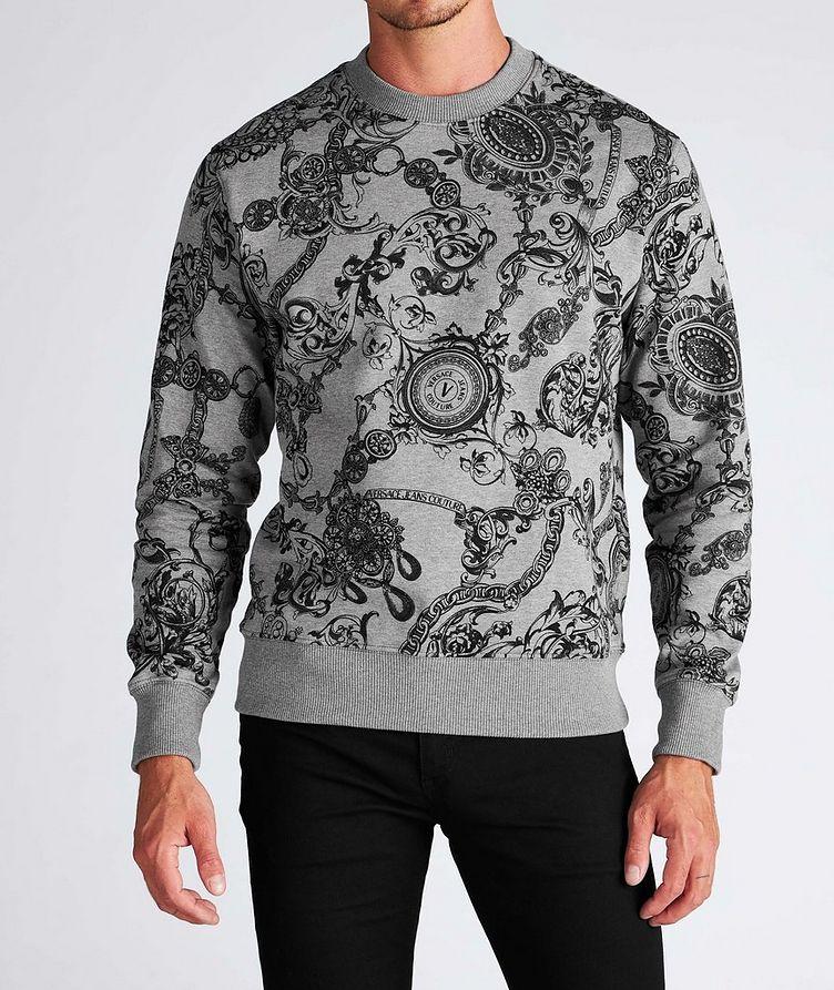 Bijoux Baroque Cotton Sweatshirt image 1