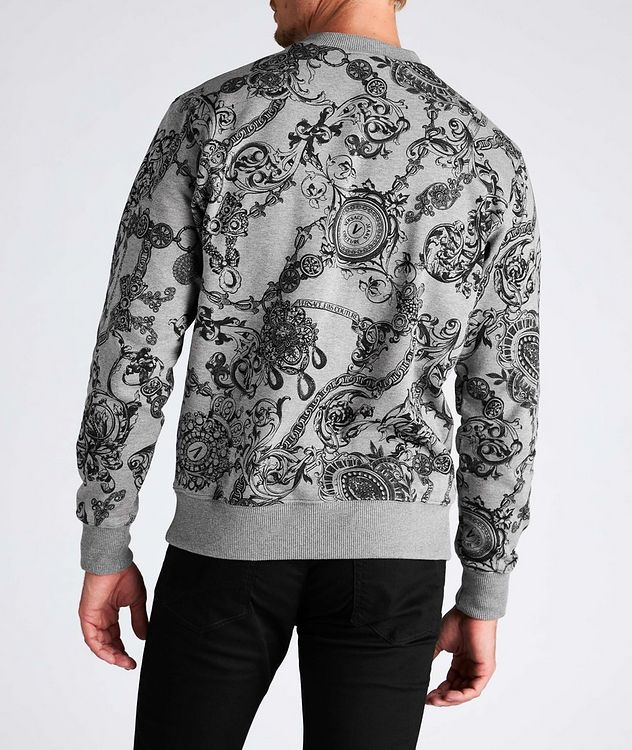Bijoux Baroque Cotton Sweatshirt picture 3