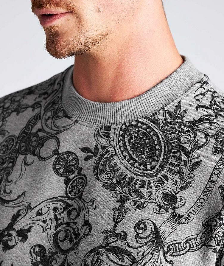 Bijoux Baroque Cotton Sweatshirt image 3