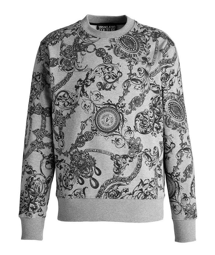 Bijoux Baroque Cotton Sweatshirt image 0