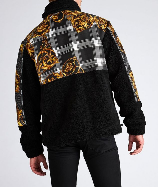 Plaid Baroque Sherpa Jacket picture 3