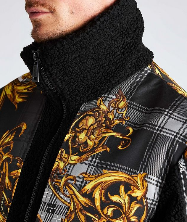 Plaid Baroque Sherpa Jacket picture 4