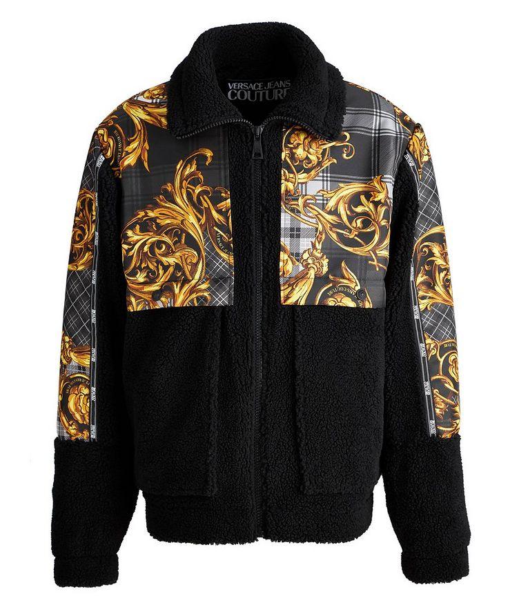 Plaid Baroque Sherpa Jacket image 0