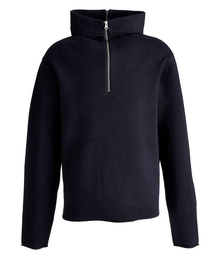Aleron Half-Zip Wool Hoodie image 0