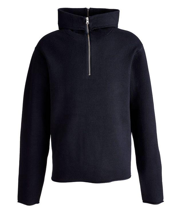 Aleron Half-Zip Wool Hoodie picture 1