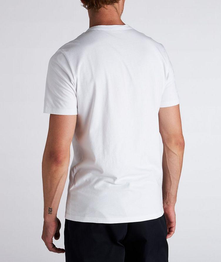 Text Logo Cotton T-Shirt  image 2