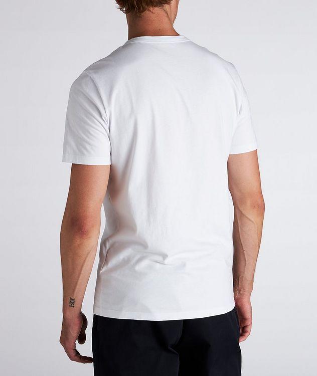 Text Logo Cotton T-Shirt  picture 3